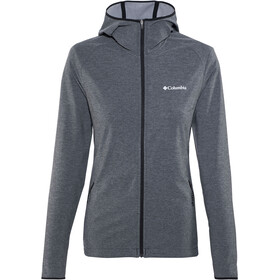 Columbia Heather Canyon Veste Softshell Femme, black